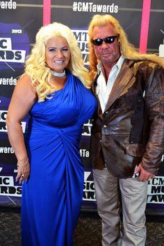 Our favorite Bounty Hunters, Dog and Beth, strike a pose on the 2013 CMT Music Awards Red Carpet #CMTawards #CMTDogAndBeth