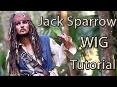 Jack Sparrow Makeup Transformation - Cosplay Tutorial - YouTube