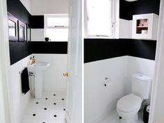 bold black & white stripe