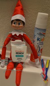 #HealthyElf knows that proper dental care is a healthy habit to begin in childhood. Share your healthy #ElfonaShelf pins with the #HealthyElf tag to join our board.