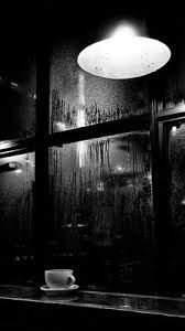 Raining in NYC and a cup of coffee