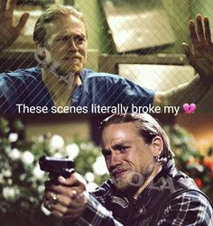 My badass biker samcro club redwood original cali touching scenes 😢 I Love My Son, I Love Lucy, Sons Of Anarchy Cast, World Handsome Man, Sons Of Arnachy, Epic One Liners, Live Life Love, Charlie Hunnam Soa, Jax Teller