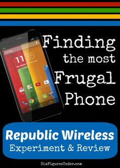 We were afraid Republic Wireless was too good to be true, but we gave them a try. They didn't disappoint! You really can have an awesome smartphone for just $10/ month with no contract! Goodbye antique dumb phone!