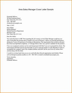 Cover Letter Manager Position Sample Center Tips Format