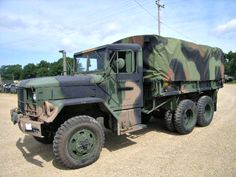 2 1/2 Ton Cargo Truck on GovLiquidation! Get them while you can!