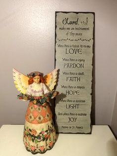 Peace Prayer of St. Francis of Assisi. Handmade Gifts by NanaSays