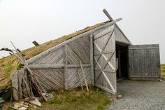 Norstead Viking Village, L'Anse aux Meadows Picture: Reproduction of the viking vessel the Snorri - Check out Tripadvisor members' 168 candid photos and videos. Newfoundland Canada, Newfoundland And Labrador, L'anse Aux Meadows, Viking House, Viking Village, Museum Architecture, Boathouse, Us Travel, Vikings