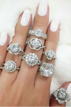 """18 Amazing Ornate Engagement Rings That Will Make You Say """"I Want That!"""""""