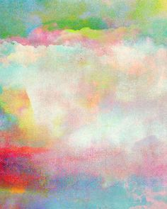 Untitled (Cloudscape) 20120222n #Art Print by Tchmo | Society6 ♡