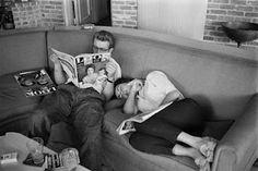 James Dean and Elizebeth Taylor