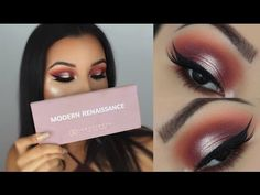 Summer Halo Eye Makeup Tutorial | ABH Modern Renaissance Palette - YouTube
