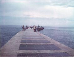 Melbourne fl airport 1960 see more pics of historic for Sebastian inlet fishing pier