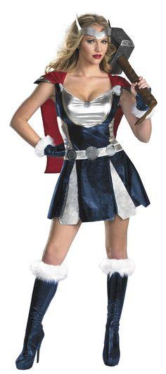 Cute idea for the Avengers Half! - Thor Costume   Avengers Costumes