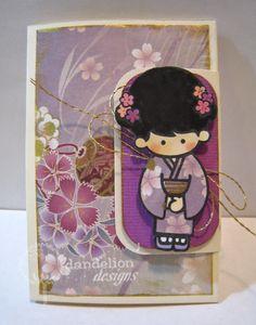 Dandelion Designs: Arigato Trifold