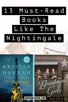 Author Kristin Hannah's talent for writing touching historical fiction is hard to match, but we have 13 other books we think you'll enjoying reading if you liked The Nightingale. Books Similar to The NIghtgale | What to Read After The NIghtingale