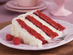 Raspberries and Cream Layer Cake