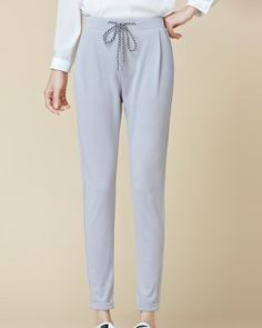 CW68569 Sports feet harem pants all-match nine pants for women