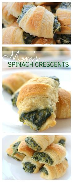 Best Spinach Appetizer Recipe | Mom's Spinach Crescents, perfect party app, comfort food - Raising Whasians via @raisingwhasians