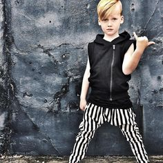 Ready to join the Mischief & Co. team?  Our brand rep and enthusiast search is on!! All details in previous post   Always Handsome Spencer @mylittlemasters rocks our 'Dark Storm' hoodie vest!  tap link in bio #mischiefandco #autumnstyle #autumnfashion #monochromestyle