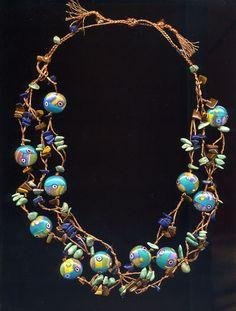 Polymer Clay necklace, Emma Ralph