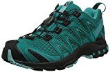 Salomon XA Pro 3D Women Trail Laufschuhe deep peacock blue-black-aruba blue- 40