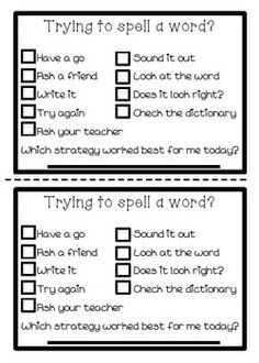50 Spelling Task Cards for any Spelling Words