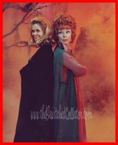 Bewitched... one of my FAVORITE shows, as a kid, and I still love it... Agnes Moorehead was so much wicked FUN as Endora!!!! ;)