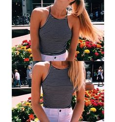 summer fashion style crop top