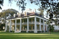 Houmas House Plantation  Now known as the Crown Jewel of Louisiana's River Road