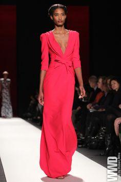 the-fashionhighway:  womensweardaily:  Carolina Herrera RTW Fall 2013