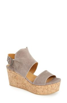 COCLICO 'Molly' Cork Platform Wedge Sandal (Women) available at #Nordstrom