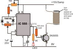 The post explains a simple yet extremely useful induction heater circuit concept which can be further implemented for making induction hot plates and induction cookers.