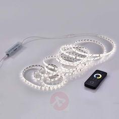 Fleksibel kontrollerbar LED-stripe Q-Teania, hvit-7610476-30