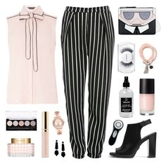 """""""""""Fashion is like music. We all have to make our own tune"""" Karl Lagerfeld"""" by celida-loves-pink ❤ liked on Polyvore featuring Glamorous, Dorothy Perkins, Michael Kors, Karl Lagerfeld, MAC Cosmetics, Emporio Armani, Valentino, L.A. Colors, Little Barn Apothecary and Clarisonic"""