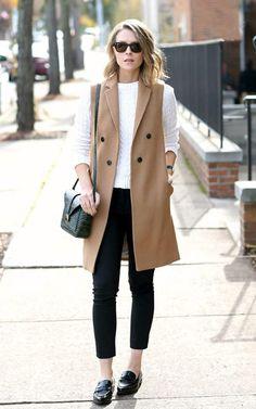 cool Модный женский пиджак без рукавов (50 фото) — С чем носить, как компоновать?