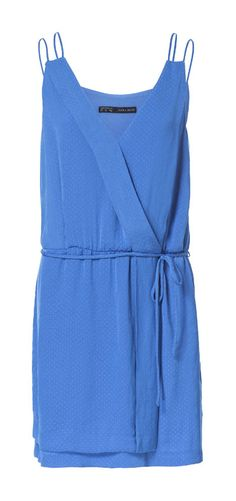 DOUBLE STRAP JACQUARD PATTERN DRESS - Dresses - Woman | ZARA Canada