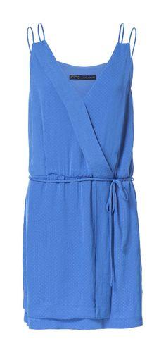 DOUBLE STRAP JACQUARD PATTERN DRESS - Dresses - Woman | ZARA Canada