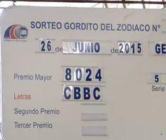 Panama: Lotería nacional de Beneficencia celebro el sorteo Gordito del Zodiaco Nº 294,  Signo Geminis del viernes 26 de Junio 2015.  Ver Mas: http://wwwelcafedeoscar.blogspot.com/2015/06/resultados-sorteo-gordito-del-zodiaco-del-viernes-26-6-15.html