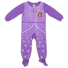 9f82e5090c Disney Junior Little Girls  Sofia the First Blanket Sleeper (Toddler) -  Sofia 1