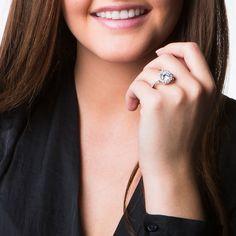 Simon Frank 2ct. TGW 'Belle Luminere' Beautiful Light CZ Wedding Ring