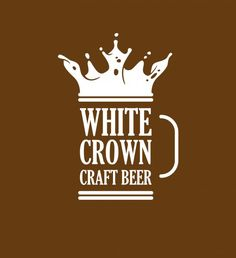white crown - craft beer   Brands of the World™   Download vector logos and logotypes