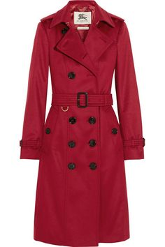 Burberry LondonBrushed Cashmere Trench