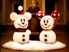 This is cute I think I could make it! Mickey and minnie