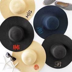 Wide Brimmed Straw Hat | Mark and Graham