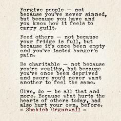 Shakieb Orgunwall poems quotes prose