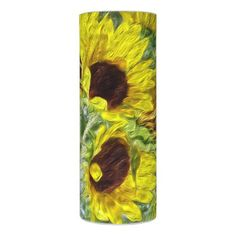 #Pretty Sunflower Wake-Up Candle - #candle #candles #special #custom
