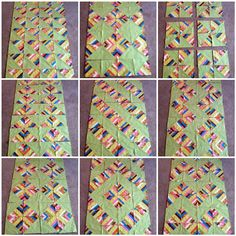 string quilts | options for arranging your HST String Blocks, there are more!