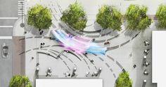 Mikyoung Kim Design - 140 West Plaza: ExhaleMikyoung Kim Design - Landscape Architecture, Urban Planning, Site Art