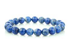 naramok-lapis-lazuli-10mm Lapis Lazuli, Turquoise Bracelet, Beaded Bracelets, Jewelry, Jewlery, Jewerly, Pearl Bracelets, Schmuck, Jewels