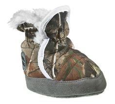 RedHead® Camo Fur Boots for Infants  04e90129376b